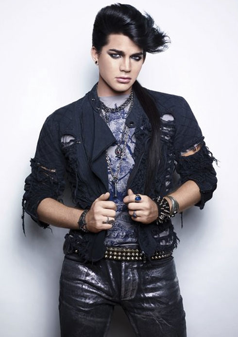 Adam Lambert in Ziggy mode